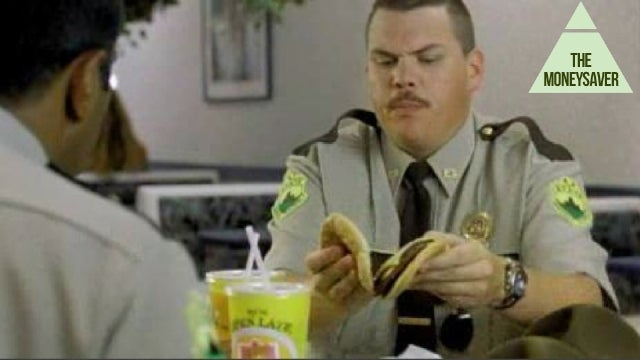 Double Bacon Cheeseburger, It's for a Cop