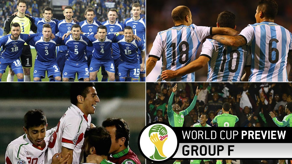 World Cup Group F Preview: Lionel Messi, And Some Other Guys