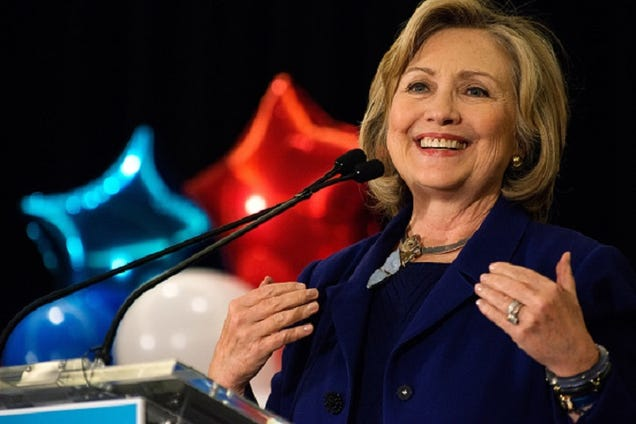 Hillary Clinton Rally: 'I Will Be the Youngest Woman President'