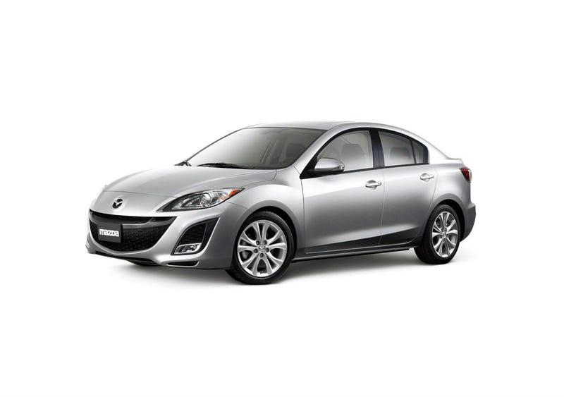 2010 Mazda3 Sedan Smiles For The Cameras