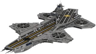 Did Lego leak the rumored SHIELD helicarrier?