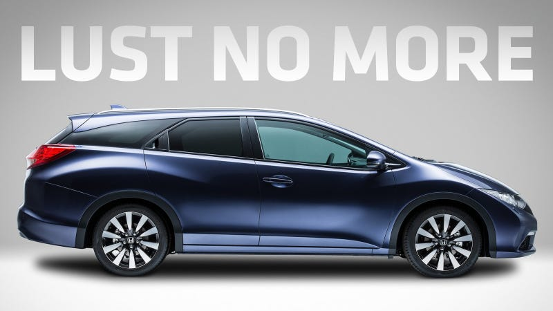 Honda Already Sells A Heavily-Styled Hatchback Wagon Thing In The US