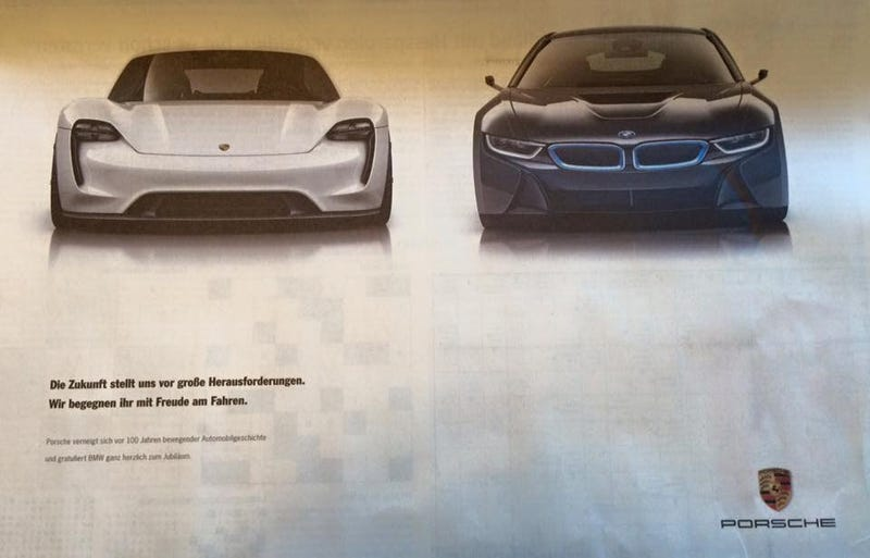 Mercedes Trolls BMW Hard On 100th Birthday With Invitation To The Mercedes Museum