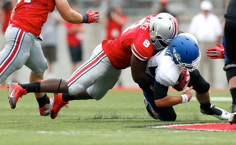 Ohio State DE Was Suspended For Ecstasy