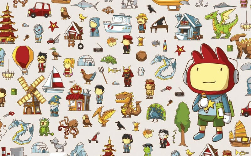 So, How Did Scribblenauts Come Up With 10,000 In-Game Items?