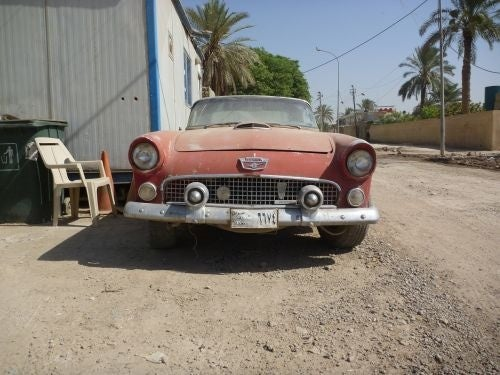 If Only Cars Could Talk: 1956 Thunderbird Down On The Baghdad Street