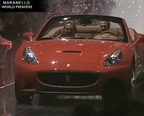 Ferrari California, Really Revealed, Live!