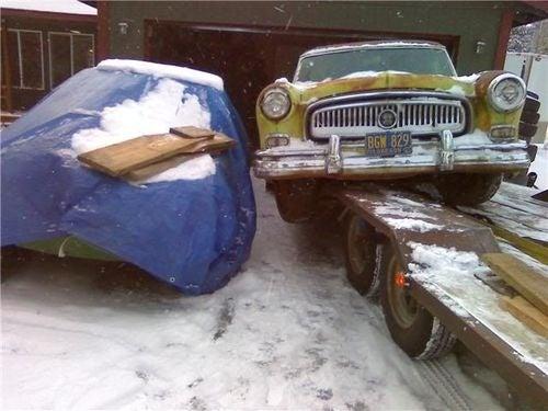 1954 Nash Rambler Prepares For 2010 24 Hours Of LeMons Season