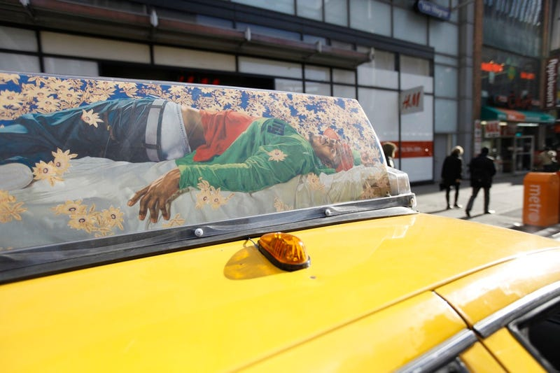 New York City Taxi Cabs Get an Artistic Makeover