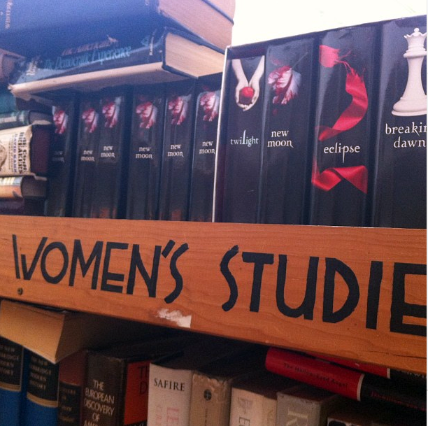 Check Out This Bookstore's Amusing Take on Women's Studies