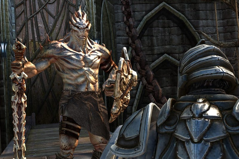 Infinity Blade Update Tomorrow Lets You Buy Gold, Adds Santa