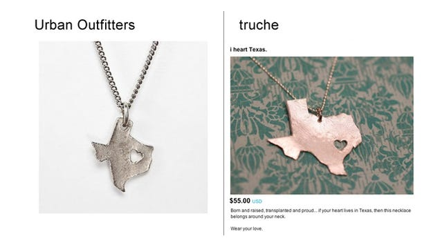 Urban Outfitters steals from Etsy
