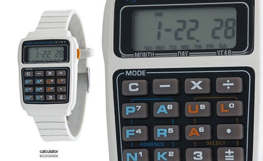 Paul Frank Calculates 1980s Watches