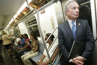 Are We Sure Mayor Bloomberg Actually Rides the Subway?
