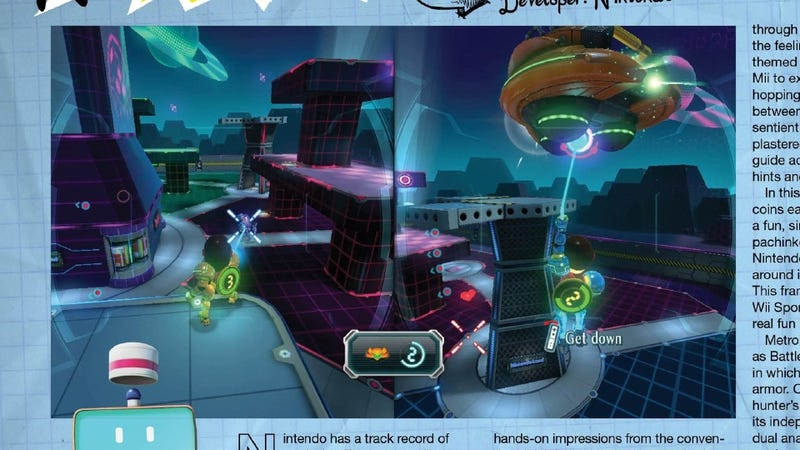 Metroid Returns (Sorta) in The Wii U's Nintendo Land