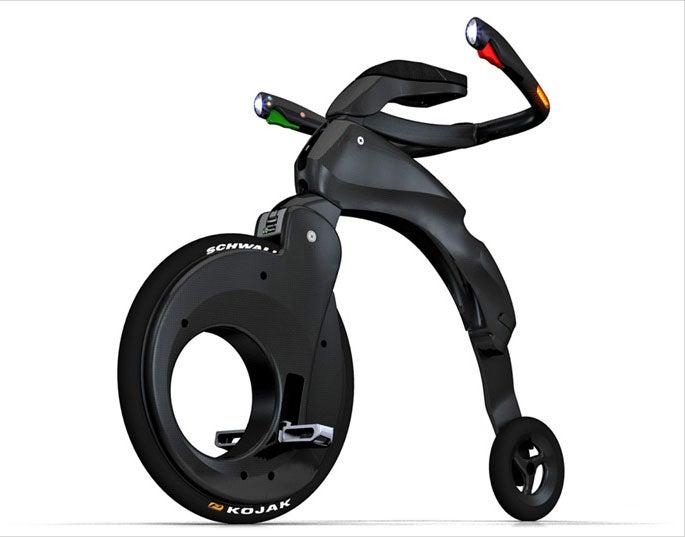 YikeBike: Foldable, Carbon Fiber Bike Is Sleek, Useful 21st Century High Wheeler