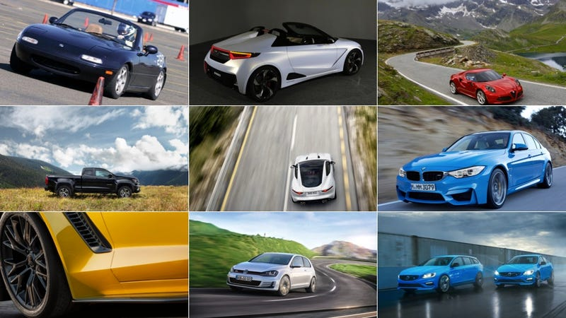 The Jalopnik Guide To Ranking 10 Awesome Cars