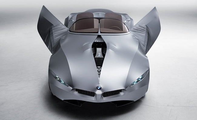 What Goes Up And Down Without Moving >> Shape-Shifting BMW Concept Car Is Made of CLOTH