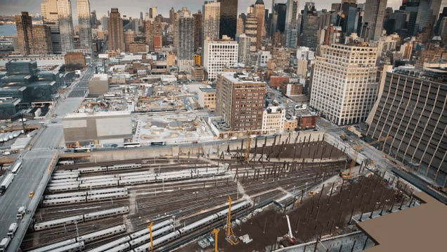 How NYC's Newest Neighborhood Will Float Above an Active Train Yard