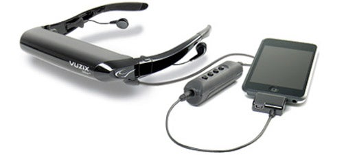 Vuzix Video Glasses Get iPhone Support With AV230XL Cable