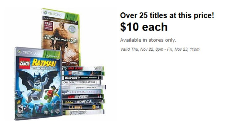 Black Friday at Walmart: Dishonored, XCOM for $25, Assassin's Creed III for $39, and More