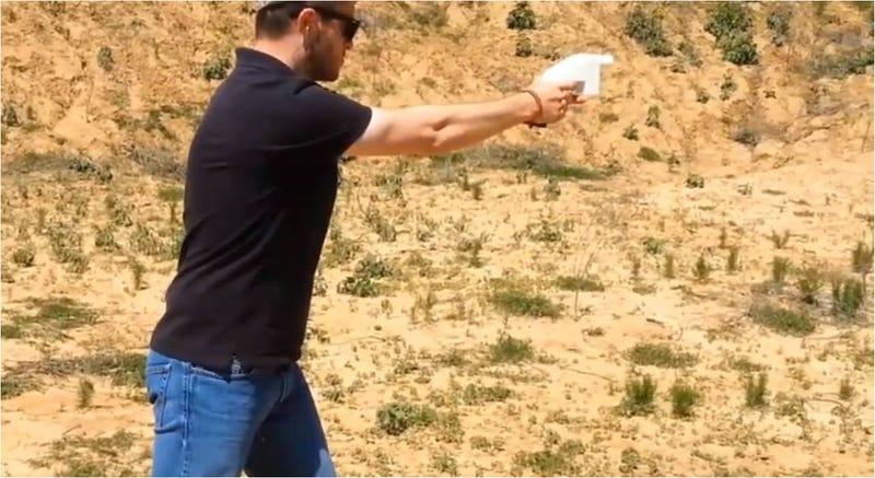 La 1ª pistola creada con una impresora 3D dispara como las de verdad