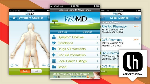 WebMD for iPhone and Android Is a Dynamic Mobile Health Compendium