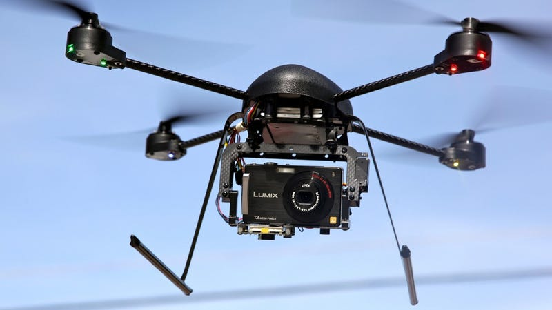 A Heroic Canadian Police Drone Saved a Car Crash Victim's Life