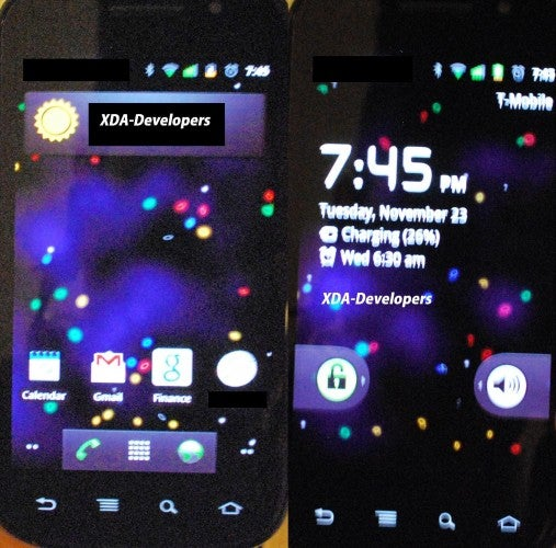 Hey Look, It's Gingerbread Running On a Samsung Nexus S