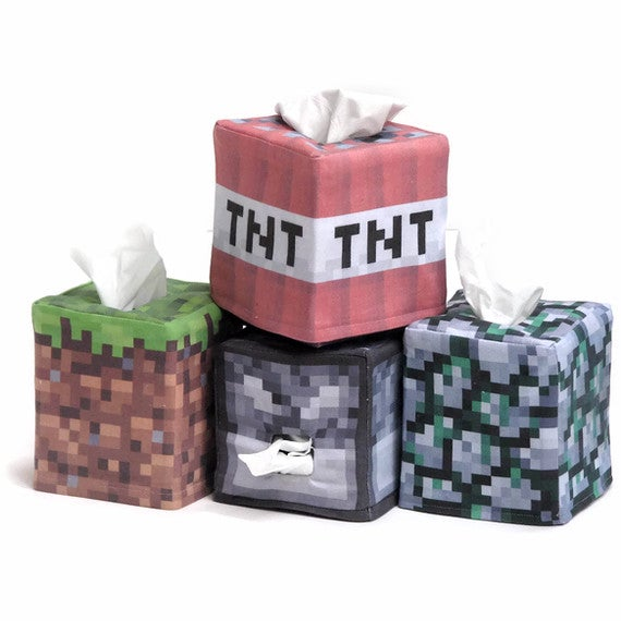 Having a Runny Nose is No Excuse for Not Playing MineCraft
