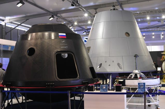 Here's an Early Look at Russia's New Manned Spacecraft