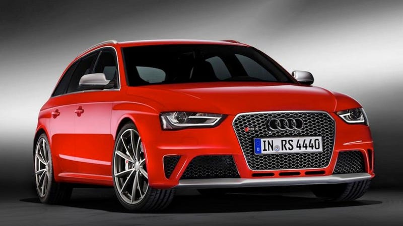 2013 Audi RS4 Avant: This Is Most Definitely It