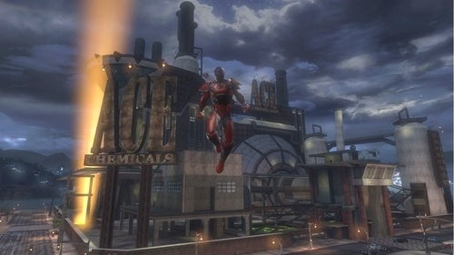 DC Universe Online Screens Take It Underground