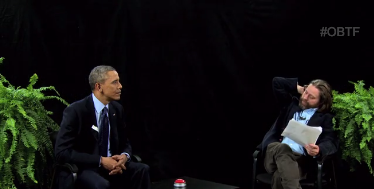"Obama's ""Between Two Ferns"" Did Cause an Obamacare ""Bump"""