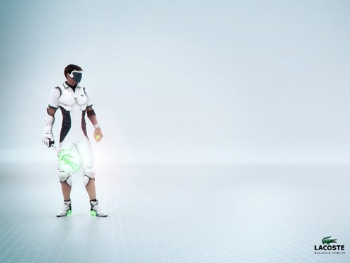 Lacoste Asks: How Will We Play Tennis In 2083?