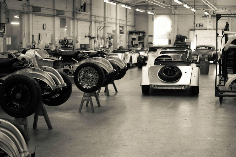 Morgan Motor Company Factory Tour – Purely British