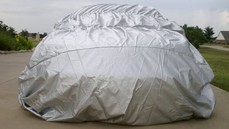 When the Weather Goes To Hail, Protect Your Ride With This Giant Airbag