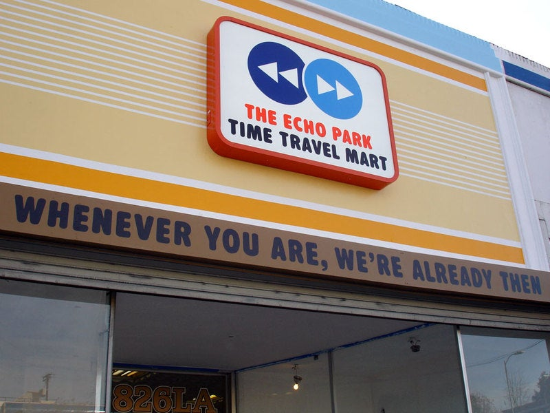 Los Angeles is Open for Your Time Travel Business