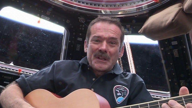 Commander Chris Hadfield: Danny Boy In Space