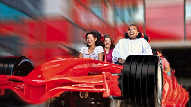 The World's Fastest Roller Coaster Is the Closest You'll Ever Get to Driving a Ferrari F1