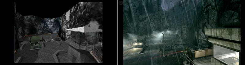 GoldenEye N64 To Wii Comparison, Dam Vs. Dam
