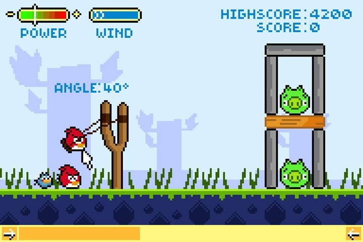 Angry Birds, 18 Years Earlier