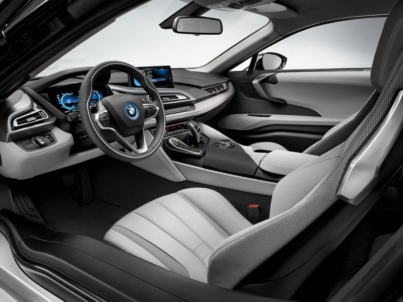 The BMW i8 Interior Stayed Pretty Close To The Concept