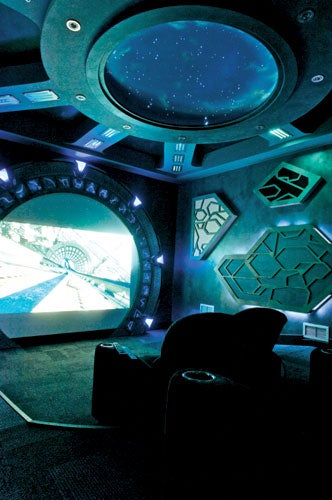 Stargate Atlantis Home Theater Gallery