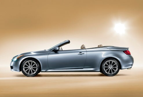 2009 Infiniti G37 Convertible Drops Top For LA