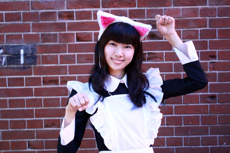 Attract Cute Japanese Girls With Thanko's Fuzzy Cat Ear Headphones