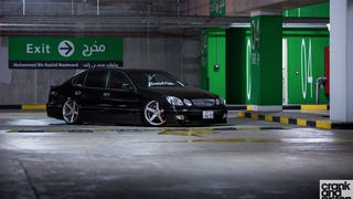 VIP Lexus GS300. Rollin' on Vossen. Dubai, UAE
