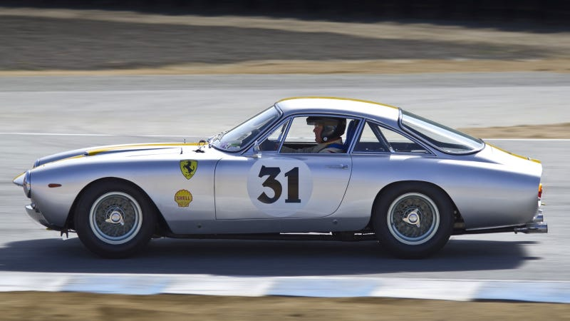 Your ridiculously cool Ferrari 250 GT Lusso wallpaper is here