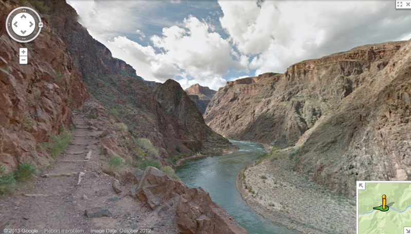 Take a Virtual Tour of the Grand Canyon With New Google Imagery