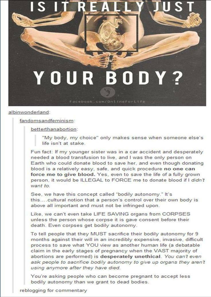 Sometimes, tumblr makes me feel so proud (TW: Abortion)